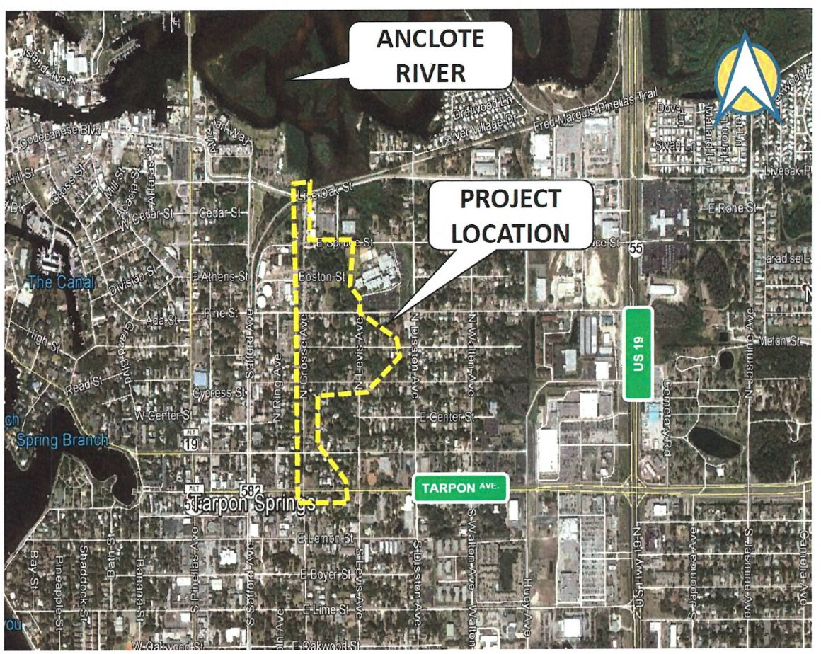 Grosse-Pent Stormwater Project Area Map